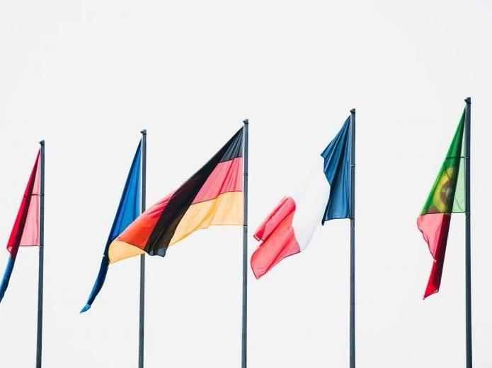 flagi krajów europejskich