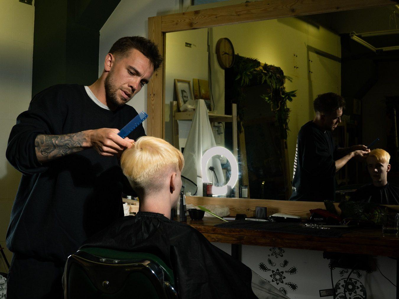 zdjęcie: fryzjer