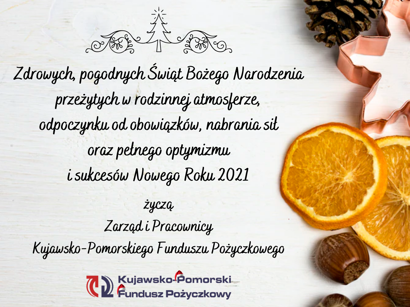 Życzenia Bożonarodzeniowe 2020