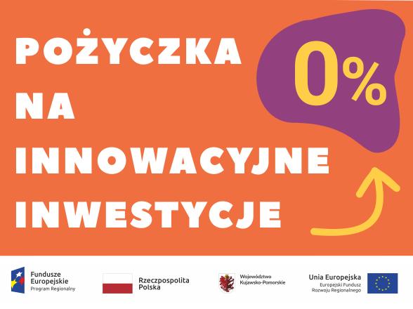 pożyczka na innowacyjne inwestycje 0 procent